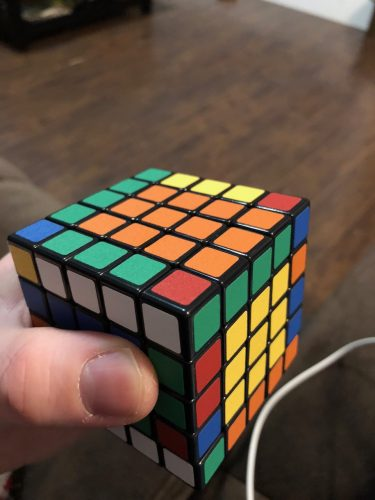5X5 Rubik's Cube Parody Solve